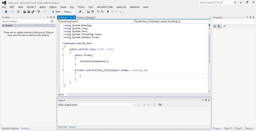 تصویر (9) صفحه Code پروژه