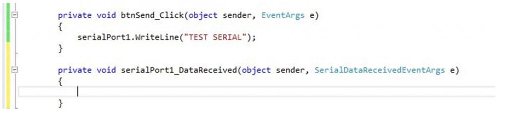 تصویر (20) افزوده شدن متد رویداد به کدها